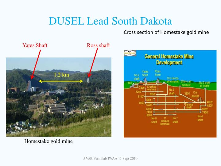 DUSEL Lead South Dakota