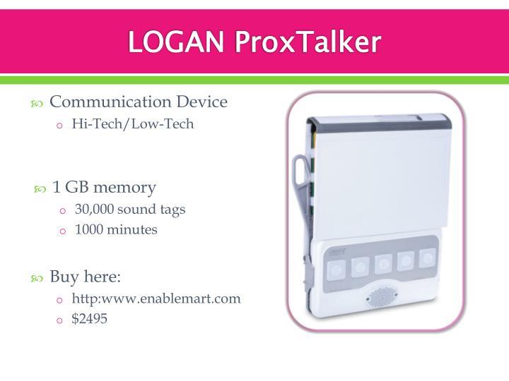 Logan proxtalker
