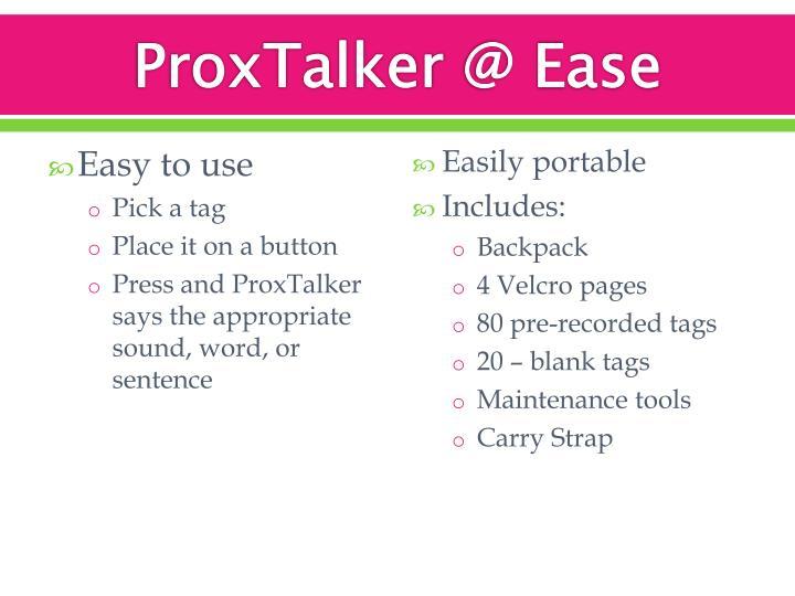 ProxTalker