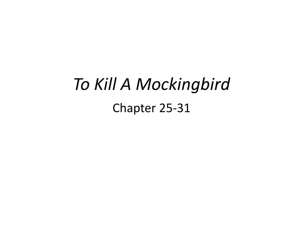 how to kill a mockingbird chapter questions