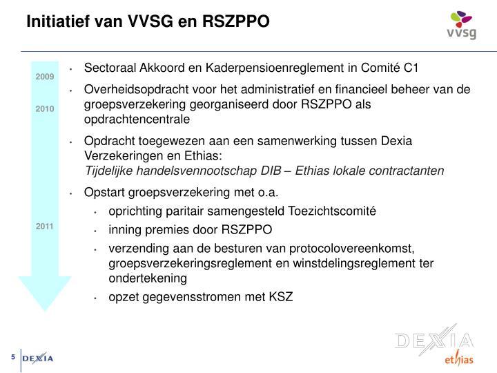 Initiatief van VVSG en RSZPPO