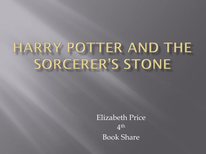 Ppt harry potter and the sorcerers stone powerpoint presentation harry potter and the sorcerers stone toneelgroepblik Image collections