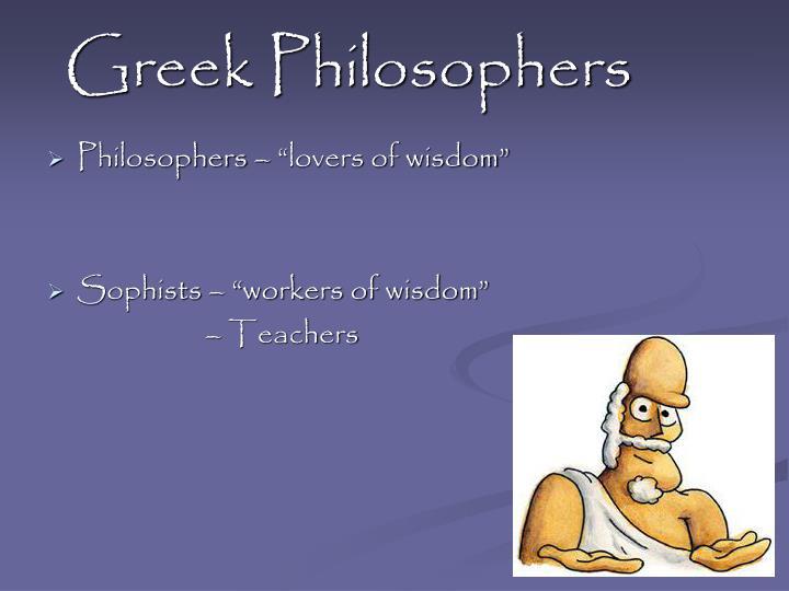 Greek philosophers1