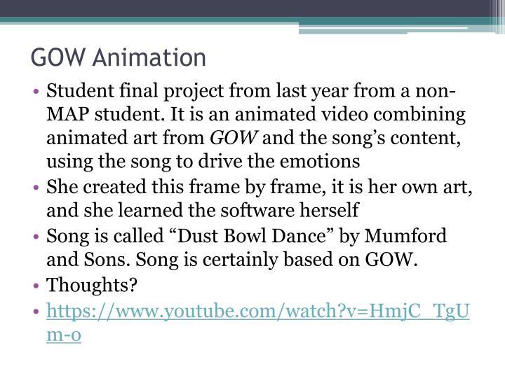 GOW Animation