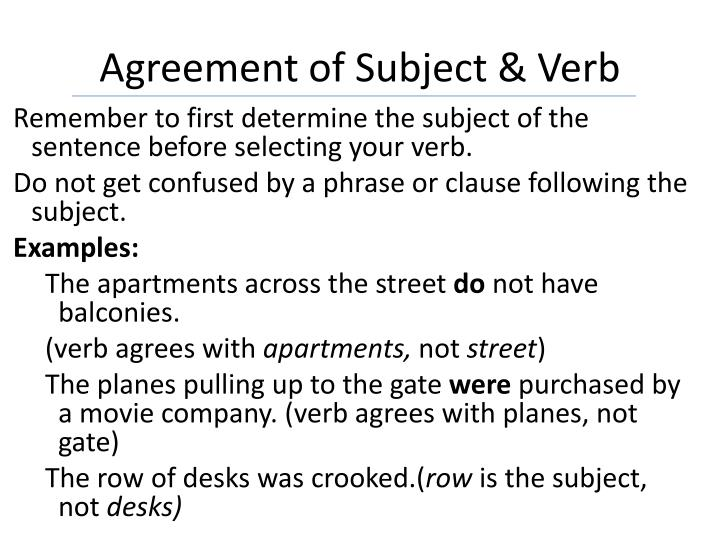 bc 11 subject verb agreement Start studying nouns, pronouns, subject verb agreement, verbs learn vocabulary, terms, and more with flashcards, games, and other study tools.