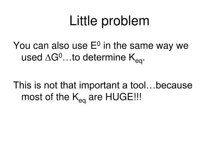 Little problem