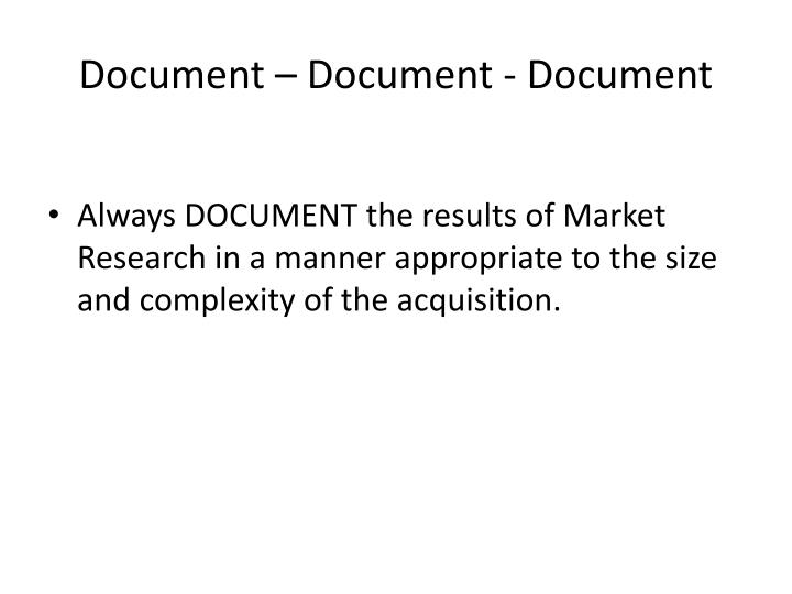 Document – Document - Document