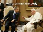 how to connect effectively