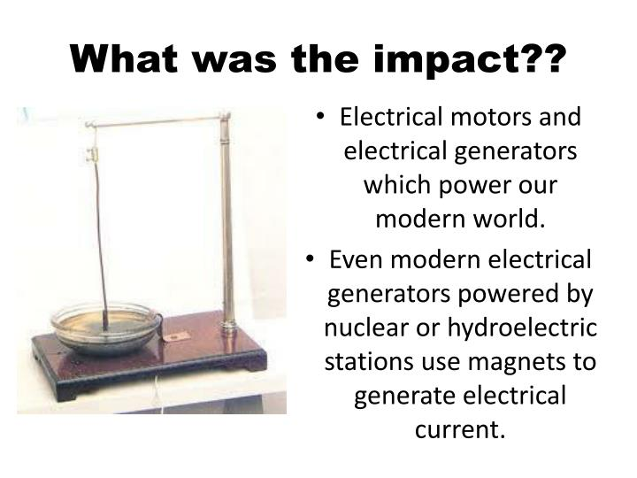 What was the impact??