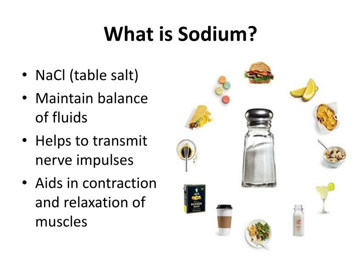 What is sodium