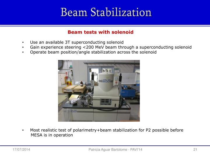 Beam Stabilization