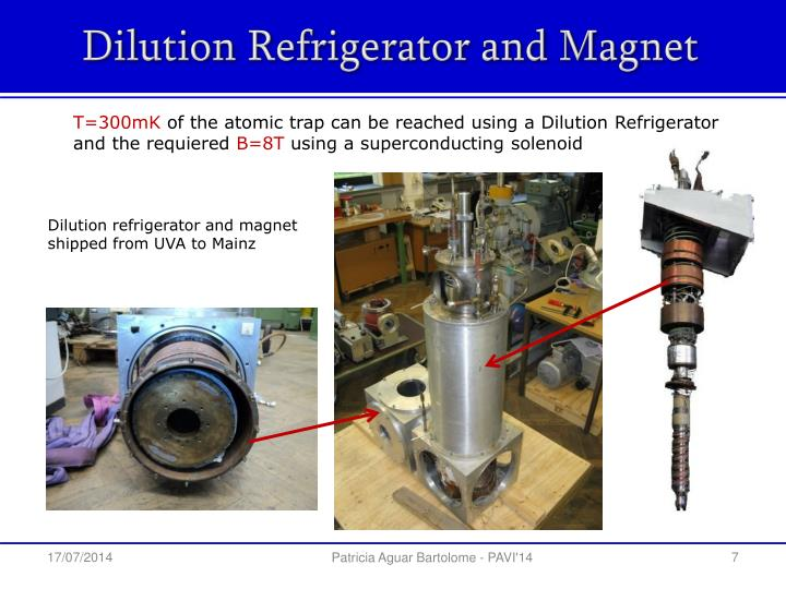 Dilution Refrigerator and Magnet