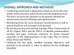 overall approach and methods1