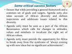 some critical success factors1
