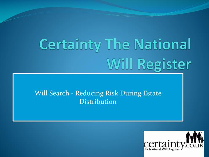 certainty the national will register n.