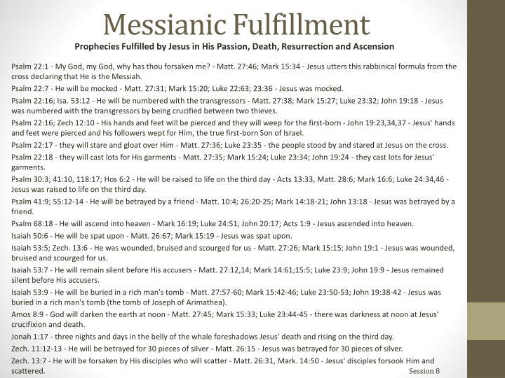Messianic Fulfillment
