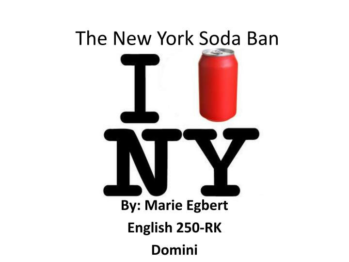 the new york soda ban of the 16oz and its effectiveness
