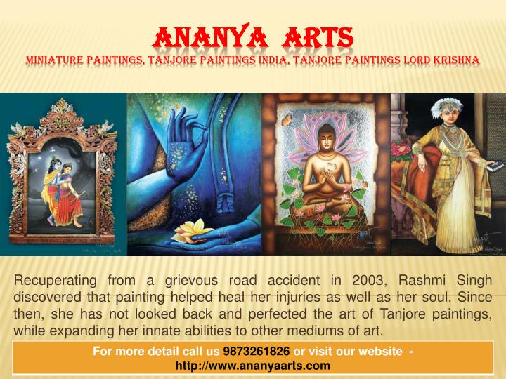 Ananya arts miniature paintings tanjore paintings india tanjore paintings lord krishna