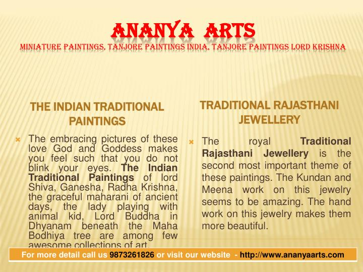 The Indian Traditional Paintings