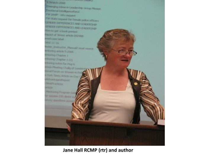 Jane Hall RCMP (