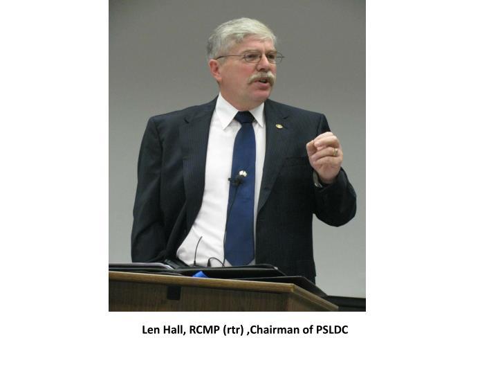 Len Hall, RCMP (