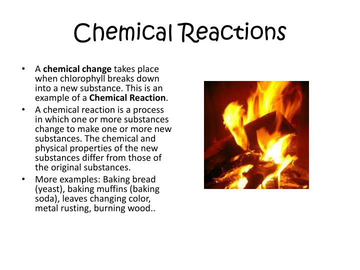 Ppt Chemical Reactions Powerpoint Presentation Id2530027