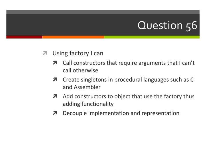 Question 56