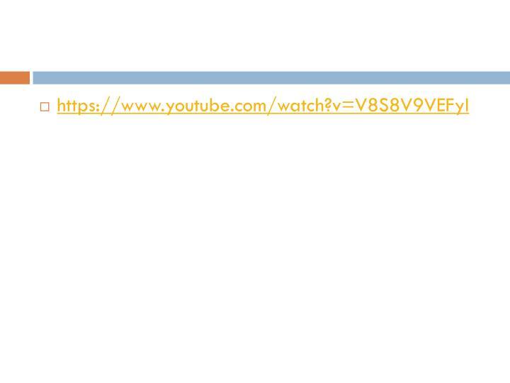 https://www.youtube.com/watch?v=V8S8V9VEFyI