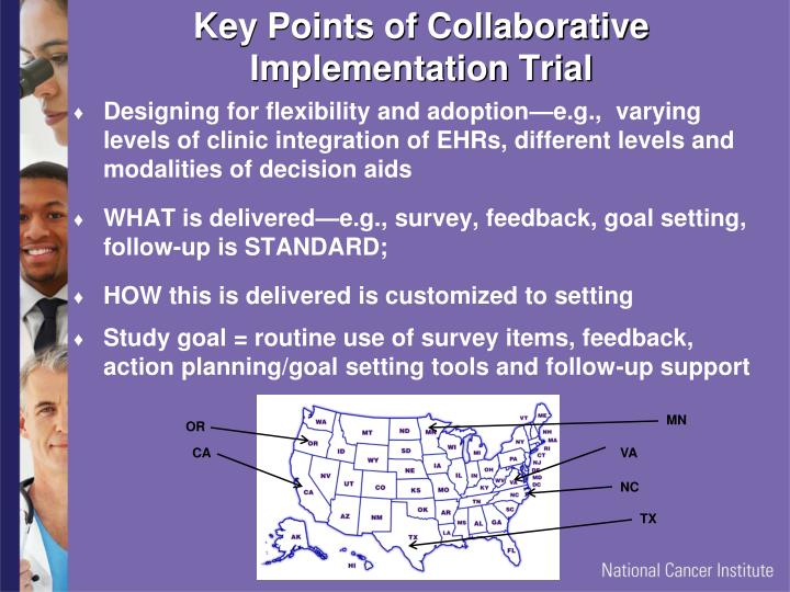 Key Points of Collaborative Implementation Trial