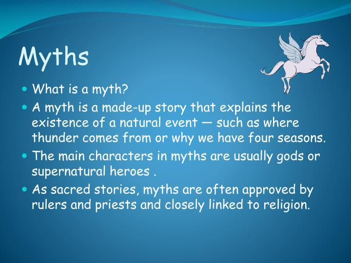 made up myth stories