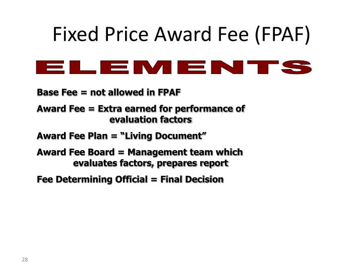 Ppt fixed price contracts powerpoint presentation id for Fixed price construction contract
