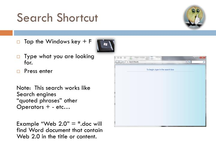 Search Shortcut