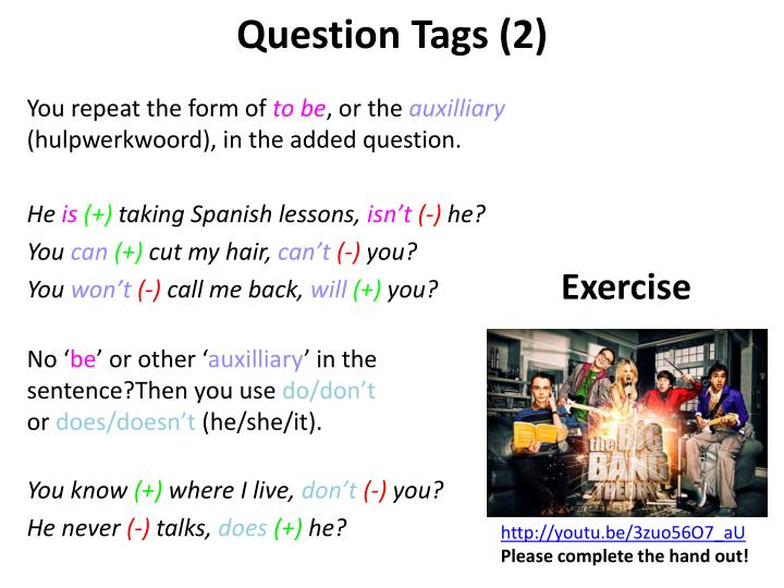 Question Tags (2)