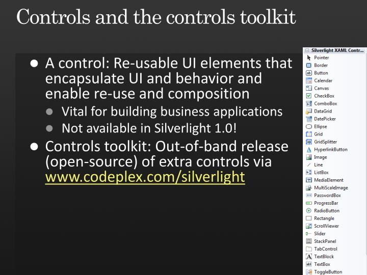 Controls and the