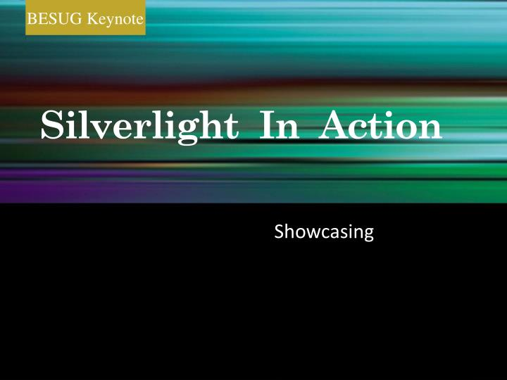Silverlight  In  Action