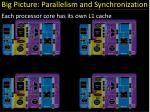 big picture parallelism and synchronization2
