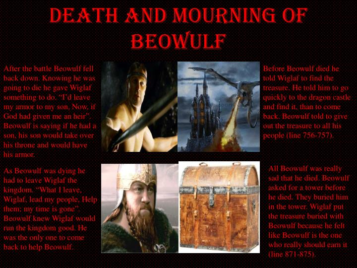 Death and Mourning of Beowulf