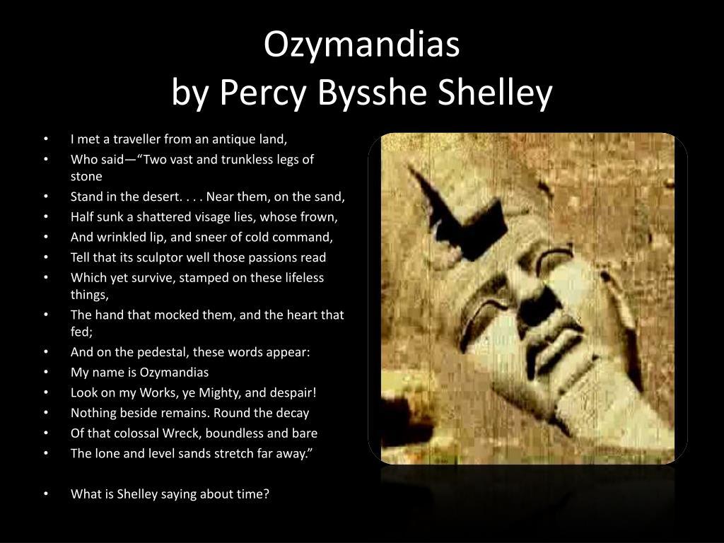 shelley ozymandias