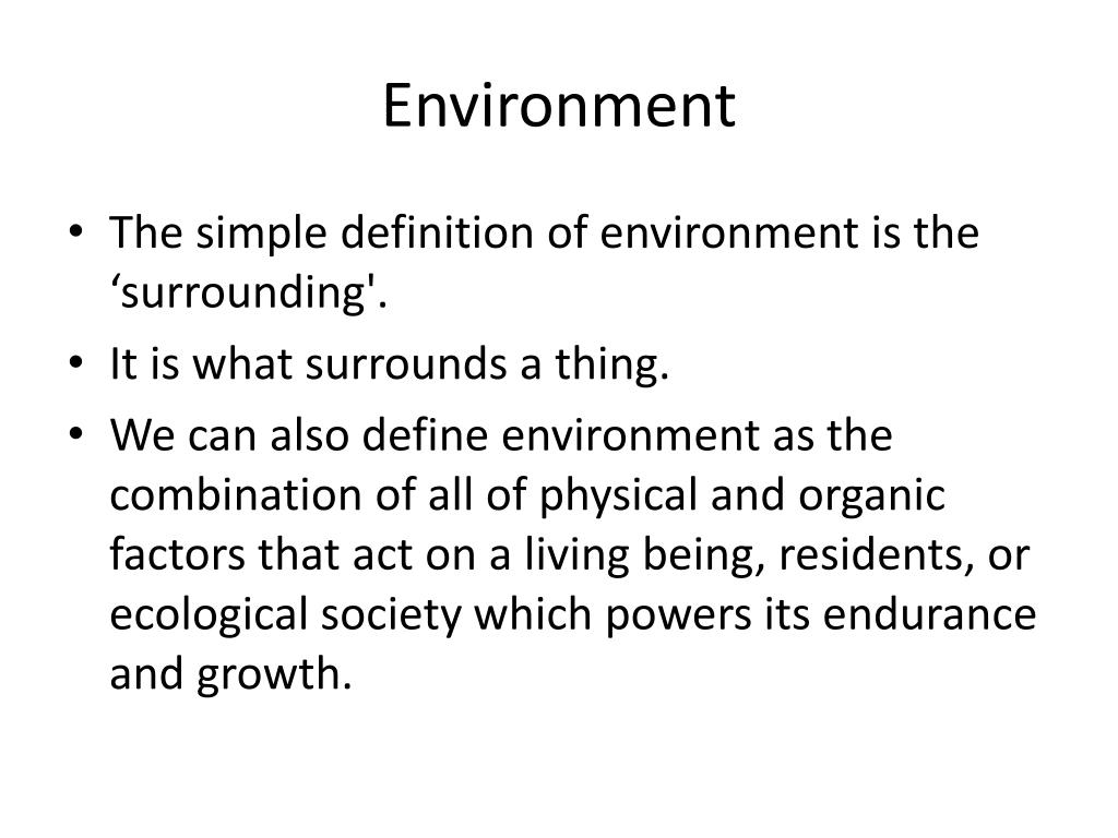 ppt - environment powerpoint presentation - id:2531524