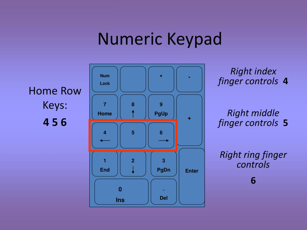 Ppt Keyboarding Touch Typing Basics Powerpoint