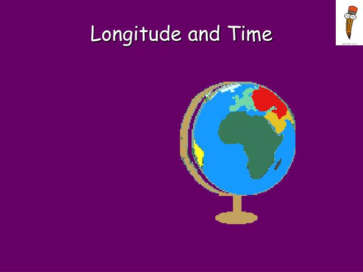 longitude and time n.