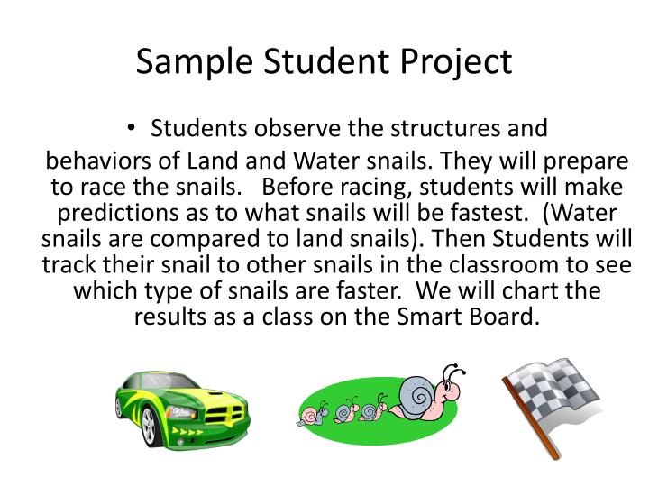 Sample Student Project