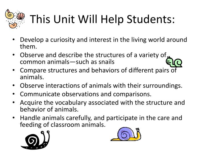 This Unit Will Help Students: