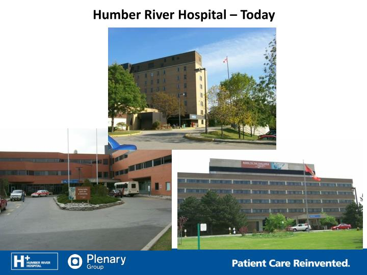 Humber River Hospital – Today
