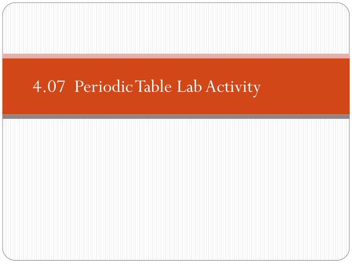 ppt 407 periodic table lab activity powerpoint presentation id 407 periodic table lab activity create your - 04 07 Periodic Table Lab Activity