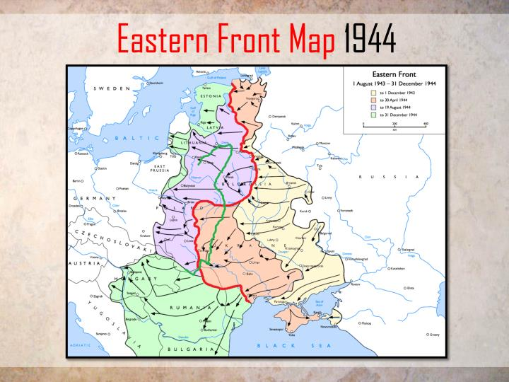 Eastern Front Map