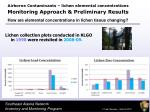 monitoring approach preliminary results9