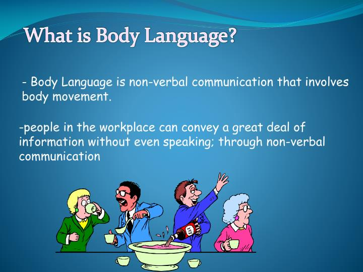 Pictures of Body Language Ppt With Pictures - #rock-cafe