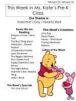 this week in ms kate s pre k class