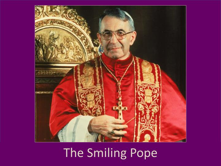the smiling pope n.